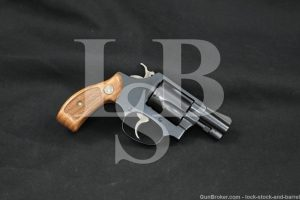 "Smith & Wesson S&W Model 36 Chiefs Special .38 Spl 2"" DA/SA Revolver 1988"