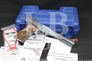 "Smith & Wesson S&W Model 41 130512 .22 LR 7"" Semi-Automatic Pistol MFD 2018"