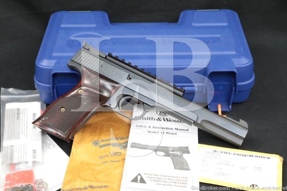 """Smith & Wesson S&W Model 41 No. 130512 .22 LR 7"""" Semi-Automatic Pistol 2015"""