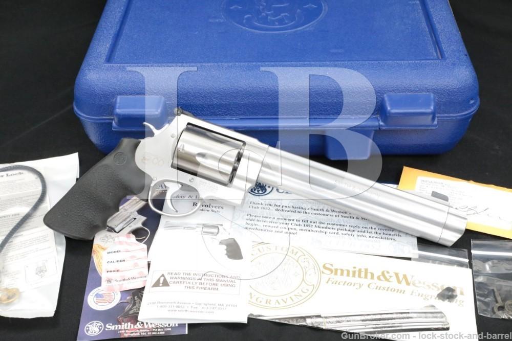 """Smith & Wesson S&W Model 500 163500 .500 S&W Magnum 8 3/8"""" Revolver 2005"""