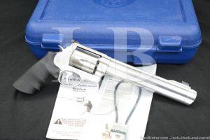 """Smith & Wesson S&W Model 500 163500 .500 S&W Magnum 8 3/8"""" DA/SA Revolver"""
