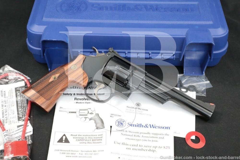 "Smith & Wesson S&W Model 57-6 150481A .41 Magnum 6"" DA/SA Revolver MFD 2017"