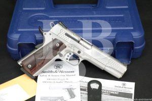 "Smith & Wesson S&W Model SW1911 E-Series 108482 SW-1911 .45 ACP 5"" Pistol"