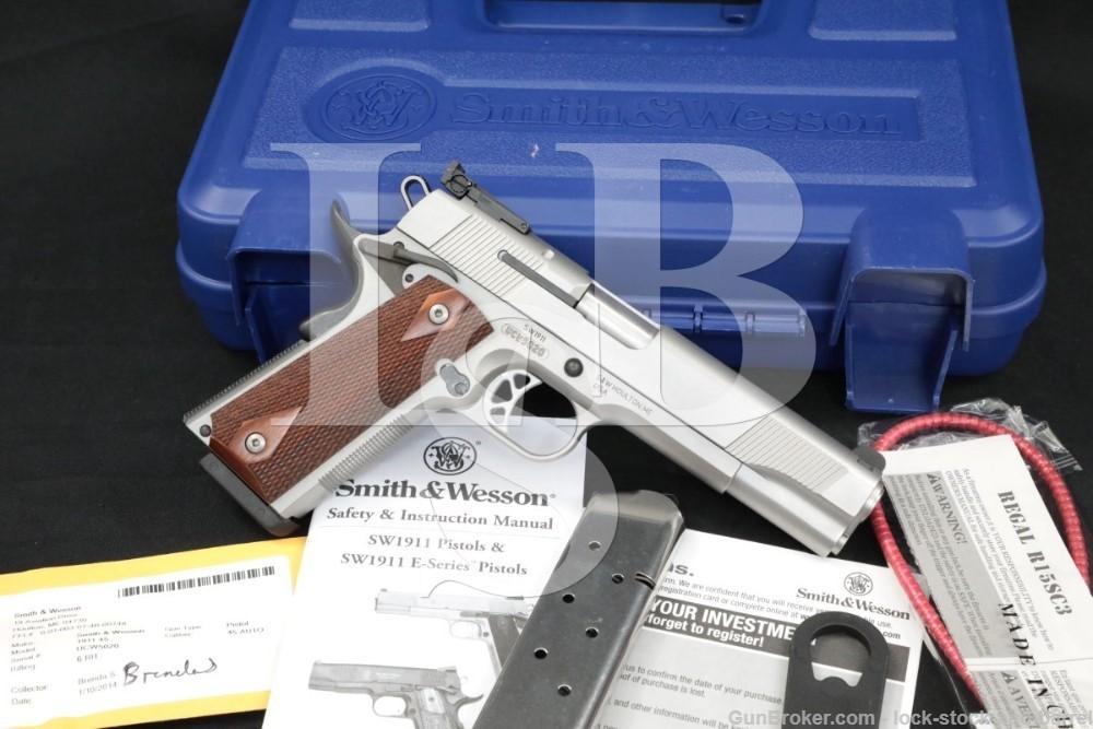 Smith & Wesson S&W SW1911 108284 .45 ACP 1911 Semi-Auto Pistol 2014