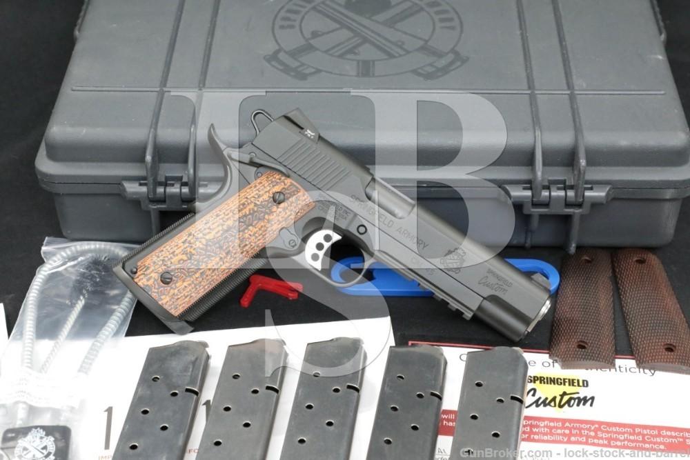 Springfield Armory Custom Shop 1911-A1 Professional Light Rail Model Pistol