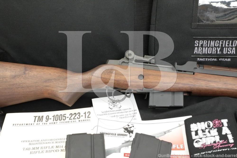 "Springfield Armory M1A M1-A M14 .308 Win 22"" Semi-Automatic Rifle 2010-2021"