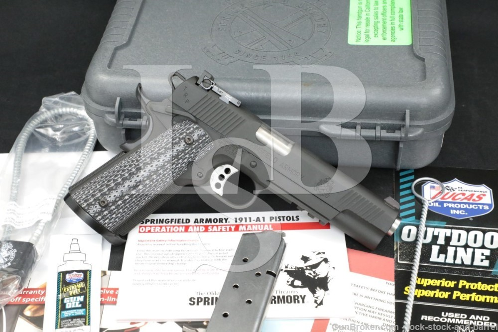 "Springfield Armory Model 1911-A1 TRP Operator PC9105L .45 ACP 5"" Pistol"