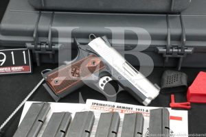 "Springfield Armory Model EMP 9mm 3"" Semi-Automatic 1911 1911-A1 Pistol"