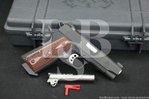 "Springfield Armory Model Range Officer Champion PI9137LP 1911 9mm 4"" Pistol"