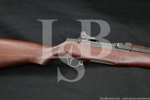 Springfield M1 Garand .308 Winchester Semi Automatic Rifle MFD 1944