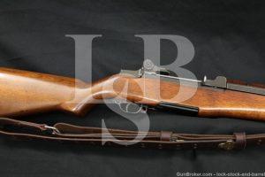 Springfield M1 Garand .308 Winchester Semi Automatic Rifle NM Sight