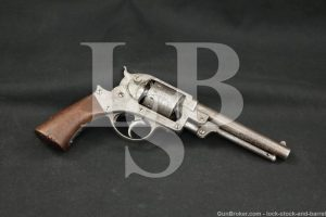 Starr Arms Co. Double Action 1858 Army .44 Cal Percussion Revolver, Antique