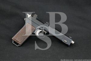 Steyr-Hahn M-1912 M1912 Wiener-Neustadt 9x23mm Semi-Auto Pistol, 1918 C&R