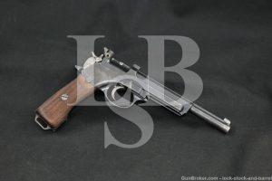 Steyr Mannlicher Model 1905 Commercial 7.63x21mm Semi-Auto Pistol, 1910 C&R