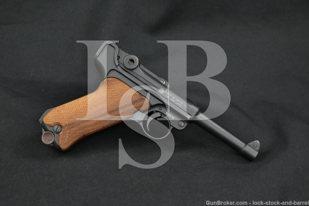 """Stoeger American Eagle Luger, 9mm 4"""" Semi-Automatic Pistol 1994-2000s"""