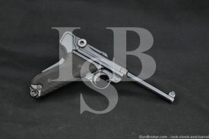 Swiss Bern Model 1929 7.65x21mm Parabellum .30 Luger Semi-Auto Pistol, C&R