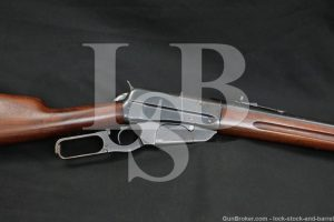 Troeh Custom Winchester 1895 Carbine .30-06 Lever Action Rifle, 1915 C&R