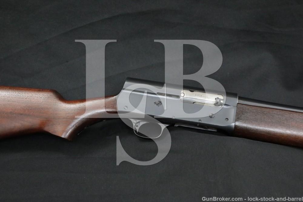 "U.S. Marked Remington Model 11 12 GA 28"" Semi-Automatic Shotgun 1943 C&R"