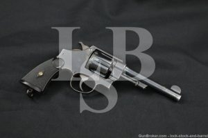U.S. Marked Smith & Wesson S&W Model 1917 .45 ACP Hand Ejector Revolver C&R