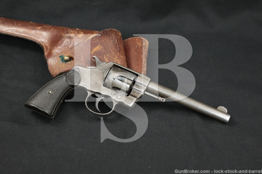 USN USCG Colt 1892/1896 New Navy .38 LC Double Action Revolver 1898 Antique