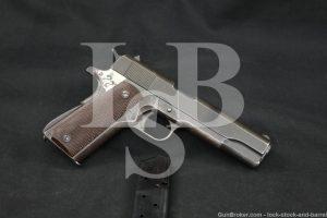WWII US Remington Rand 1911A1 1911-A1 .45 ACP Semi-Auto Pistol, 1944 C&R