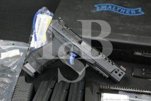 """Walther Custom Model Q5 Match 9x19mm 5"""" Black Semi-Automatic Pistol, 2006"""