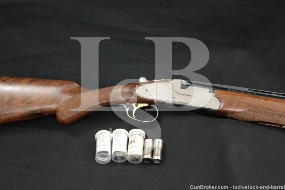 Weatherby Japan Model Athena 20 GA 26″ Over Under O/U Shotgun