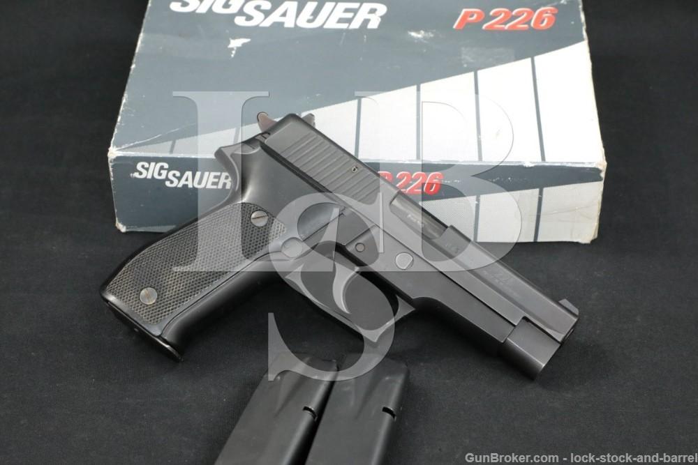 West German Sig Sauer P226 P-226, 9mm Para SA/DA Semi-Automatic Pistol 1991