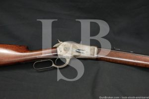 """Winchester 1886 '86 26"""" Octagonal 40-82 WCF Lever Action Rifle 1888 Antique"""