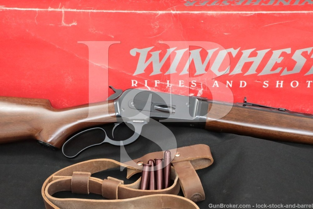 """Winchester 1886 '86 Takedown 26"""" Octagonal .45-70 Gov't Lever Rifle, 1998"""