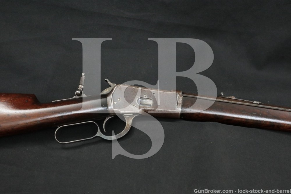 """Winchester 1892 92 24"""" Octagonal .32-20 WCF Lever Action Rifle 1897 Antique"""