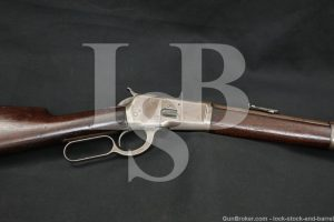 Winchester 1892 92 Saddle Ring Carbine .38-40 WCF Lever Rifle, 1895 Antique