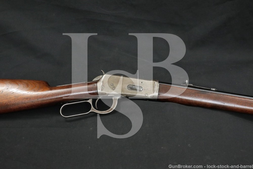 """Winchester 1894 26"""" Octagonal .38-55 WCF Lever Action Rifle, 1894 Antique"""