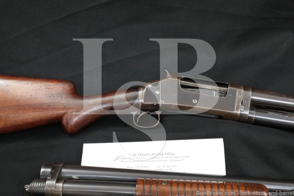 "Winchester 1897 Factory Two-Barrel Set 26""/28"" Cyl/Full 16 GA Pump Shotgun"