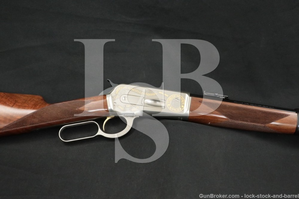 1 of 2,000 Browning 1886 National Forest Centennial .45-70 22″ Lever Rifle