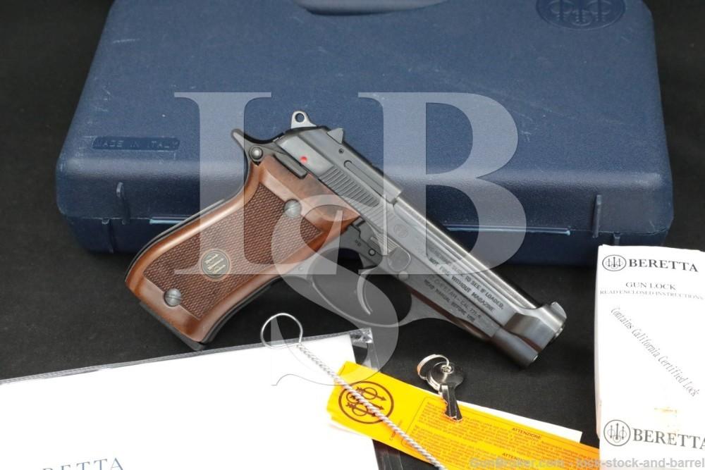Beretta 87 Cheetah J87B210 .22 LR DA/SA Semi-Automatic Pistol, 2011
