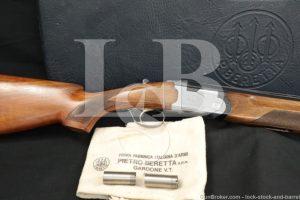 "Beretta Model S686 Special 686 12 GA 28"" Over Under O/U Shotgun MFD 1980"