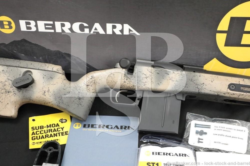 "Bergara Premier Ridgeback 6.5 Creedmoor PRC 26"" Bolt Action Rifle 2019-2021"