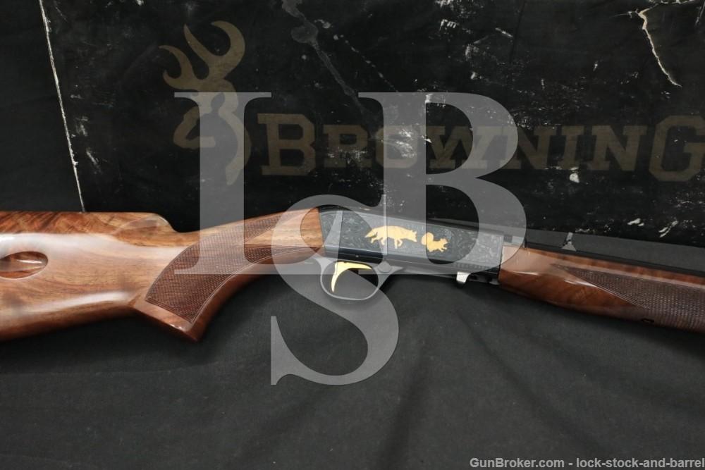 Browning SA22 SA-22 Grade VI Engraved .22 LR Semi-Automatic Rifle, MFD 1988
