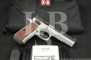 "CZ Model 75 CZ75 CZ-75 Tactical Sports 9mm 5"" Semi-Automatic Pistol, 2016"