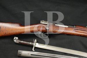 Carl Gustafs Swedish 1894/14 Carbine 6.5x55 Military Rifle & Bayonet C&R