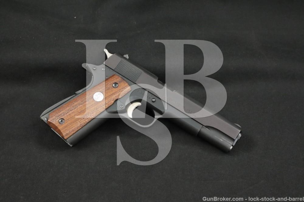 "Colt Series '70 MK IV Government Model .45 ACP 5"" 1911 Pistol MFD 1973"