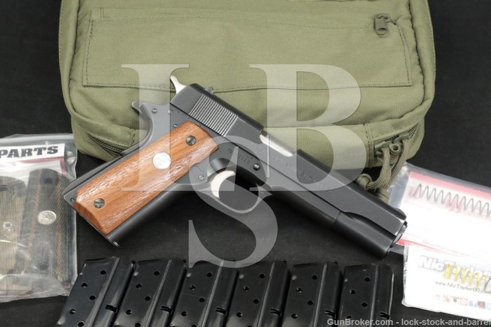 Colt Series '70 MK IV Government Model 1911 9mm Semi-Auto Pistol, MFD 1975
