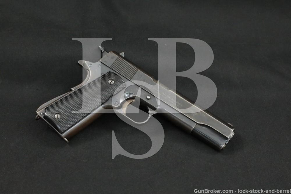 DGFM-FMAP Argentine 1911 Sistema Colt 1927 #s Match 45 ACP Pistol, 1945 C&R