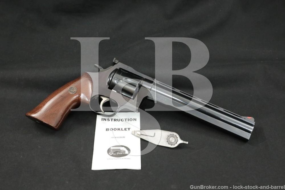 "Dan Wesson Arms Monson Model 44 .44 Magnum 8"" Double Action Revolver"