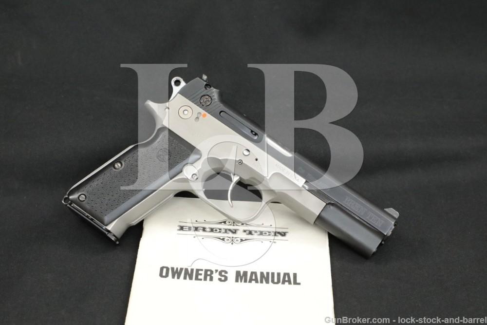 Dornaus & Dixon Bren Ten Standard Model 10mm Semi-Auto Pistol, MFD 1983 C&R