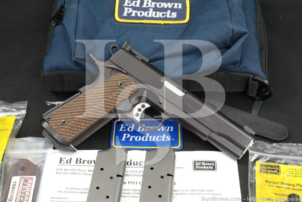 "Ed Brown Products Model Executive Target 1911 .45 ACP 5"" Semi-Auto Pistol"