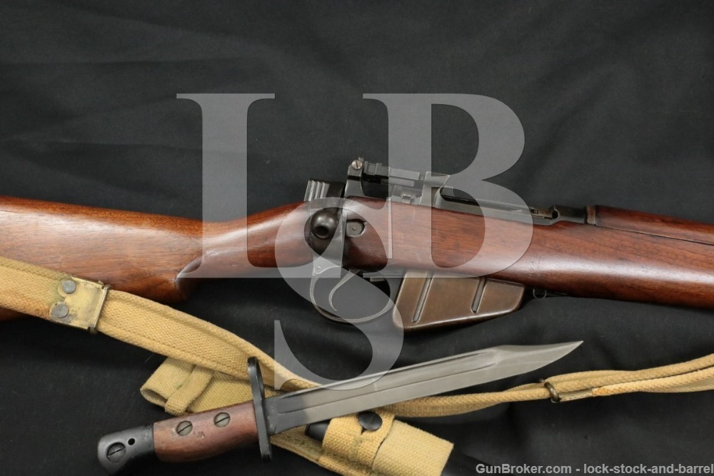 Enfield No5 Mk1 No.5 MkI Jungle Carbine .303 Bolt Action Rifle Bayonet C&R