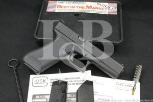 Glock Austrian Proof Model 17 Gen 1 G17 9mm Semi Automatic Pistol, MFD 1988