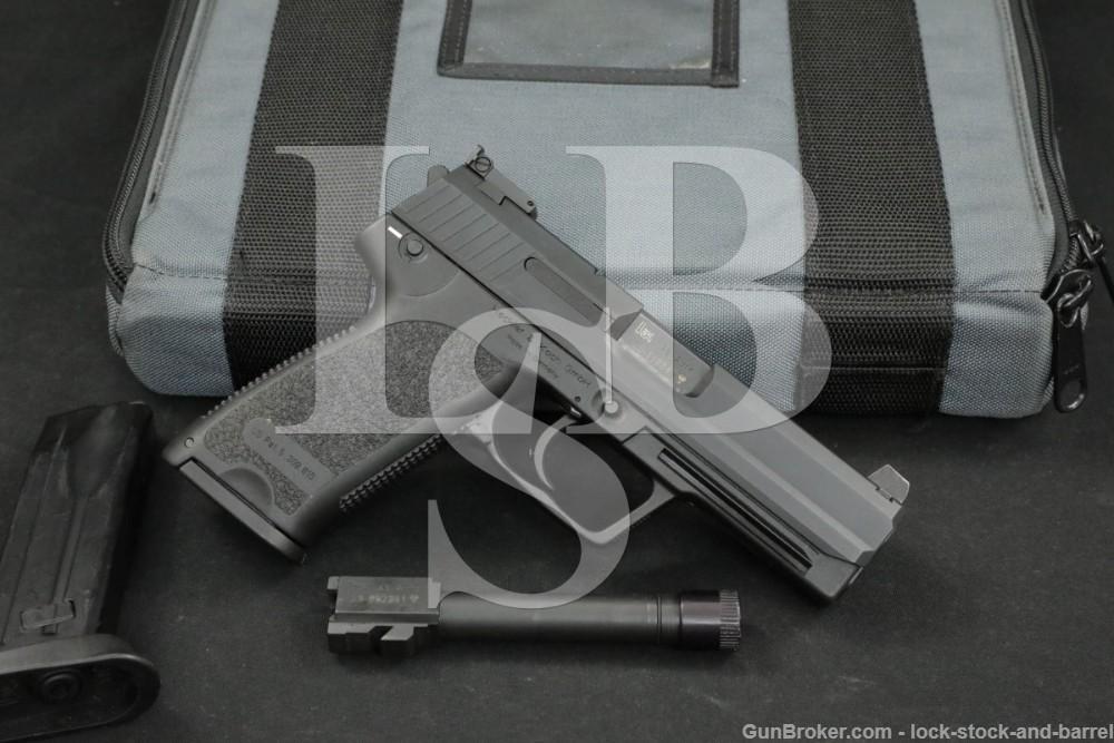 Heckler & Koch HK USP45 Tactical .45 ACP Semi-Auto Pistol, MFD 2003